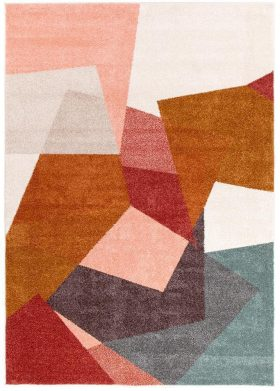 Dimensions Divinity Fragments Blush Modern Rug