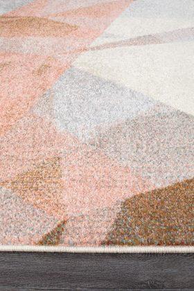 Dimensions Divinity Shatter Blush Modern Rug