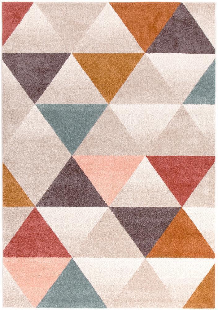 Dimensions Divinity Order Blush Modern Rug