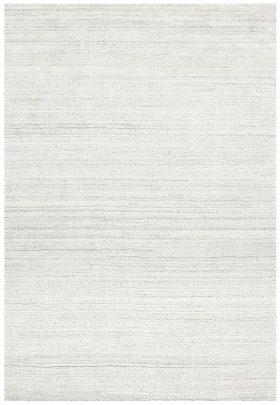 Havana Wool Silky Viscose Light Grey Rug
