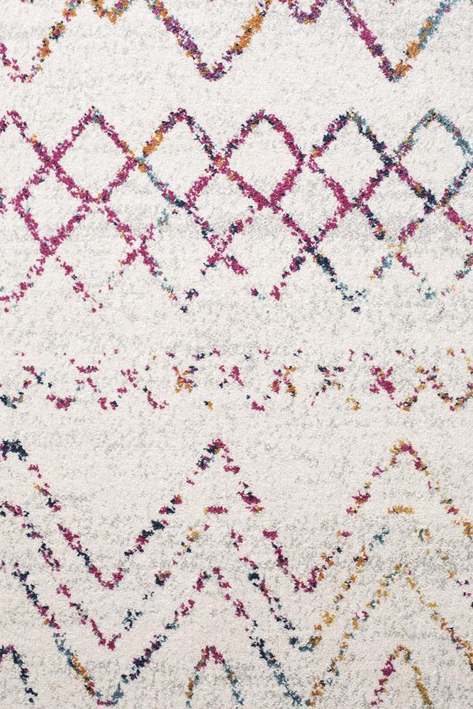 Oasis Nadia Multi Rustic Tribal Rug