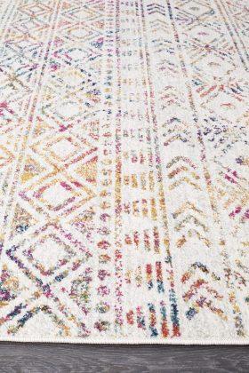 Oasis Ismail Multi Grey Rustic Rug