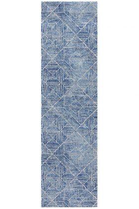 Oasis Kenza Contemporary Navy Rug