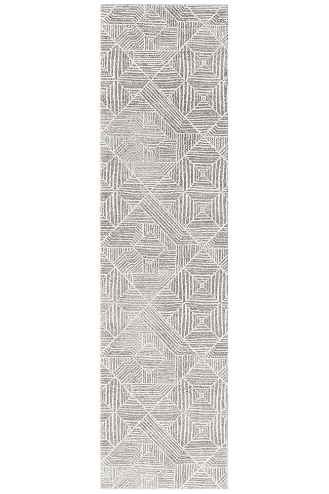 Oasis Kenza Contemporary Silver Rug