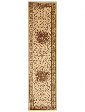Istanbul Collection Medallion Classic Pattern Ivory Rug