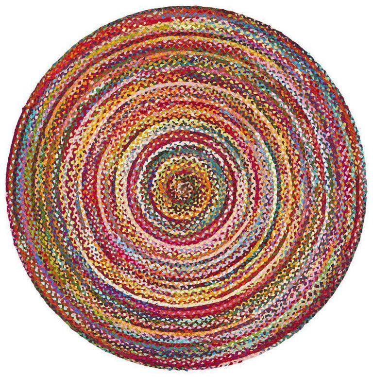 Atrium Chandra Braided Cotton Rug Multi