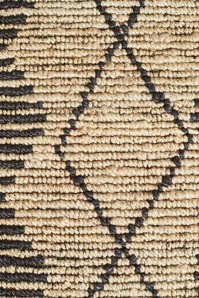 Kenya Kasa Hand Woven Tribal Jute Rug