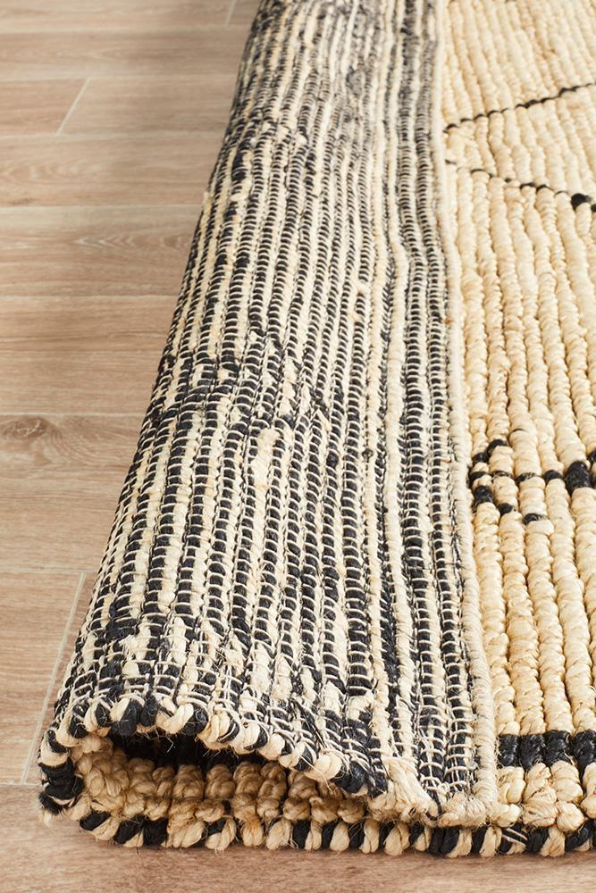 Kenya Tumu Hand Woven Tribal Jute Rug