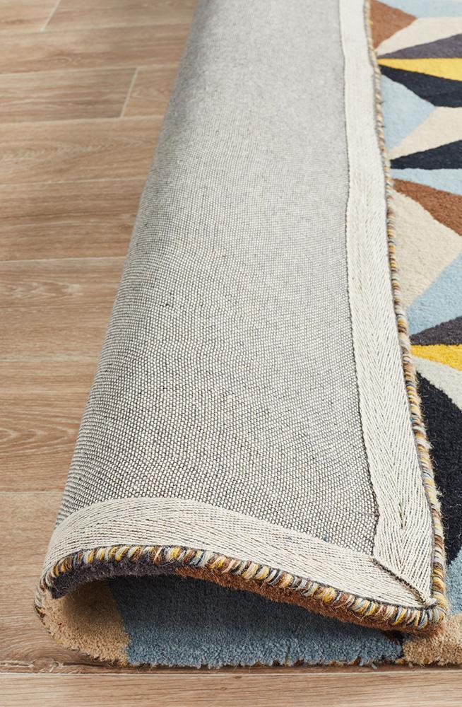 Matrix Pure Wool Blue Rug
