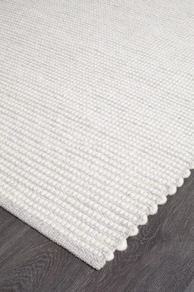 Loft Stunning Wool Grey Rug