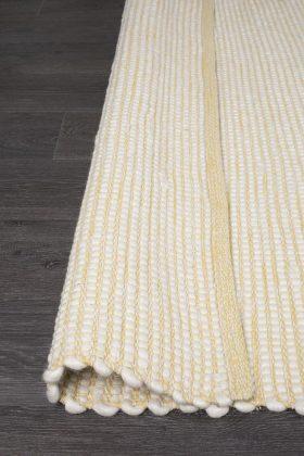 Loft Stunning Wool Yellow Rug