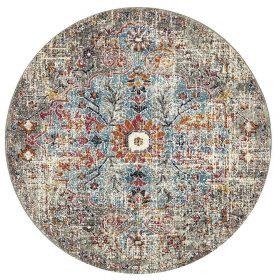 Museum Huxley Multi Coloured Round Rug