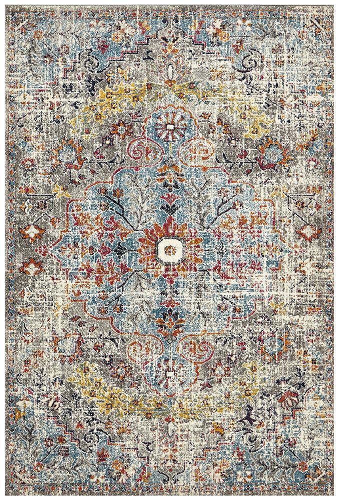 Museum Huxley Multi Coloured Rug